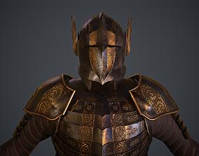 3D asset Royal Armor