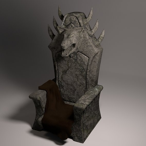 The Ancient throne of the Beast