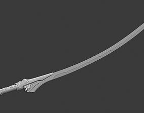 Genji Blackwatch sword 3D print model