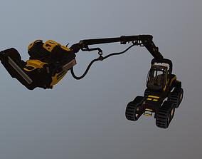 3D Harvester Wheeled Forestry