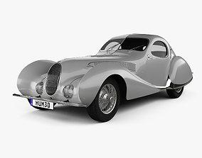 3D Talbot Lago T150 SS Figoni et Falaschi Teardrop Coupe