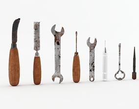 3D model Rusty Tools