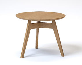 UHS Group Penny Round table Wood 3D model