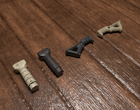 Foregrips 3D model