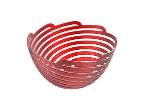 Spiral Bowl 3D printable model