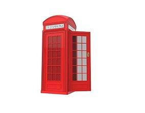 Red Phone box 3D model
