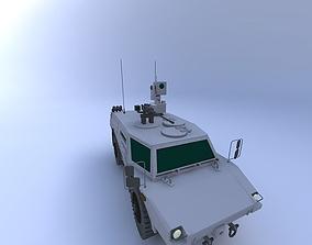 3D Fennek Reconnaissance Vehicle