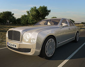 Bentley Mulsanne 2011 3D model