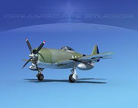 3D model Republic P-47D Thunderbolt V14