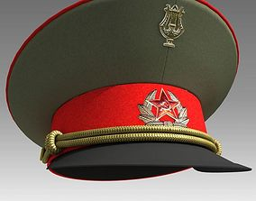 3D model USSR Visor Cap