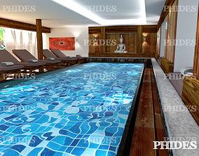 3D spa Swimming pool