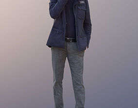 Andy 10459 - Talking Casual Man 3D model
