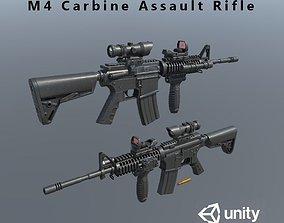 3D model M4 Carbine Assult Rifle