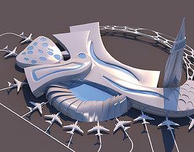 Air Port Organic Form - Geary 3D model