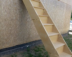 3D MDF Stairs