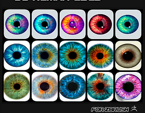 decal 3D 60 HUMAN EYES PACK TEXTURES