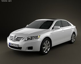 Toyota Camry 2010 with HQ Interior 3D