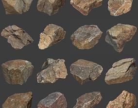 3D asset Stones Pack Volume 4