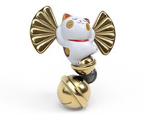 3D asset Lucky fortune cat
