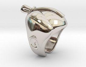 SAMURAI Ring 3D print model