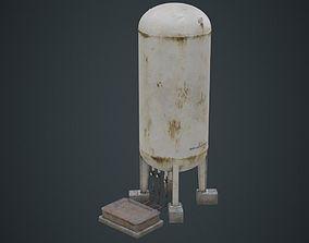 Industrial Gas Tank 3B 3D model