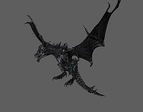 3D print model Dragon attack