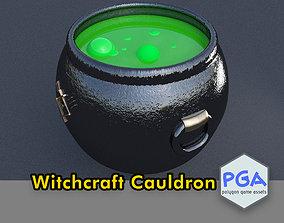 Witchcraft cauldron 3D