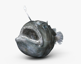 3D Anglerfish HD