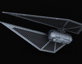 Galactic Empire TIEsk x1 Striker 3D model