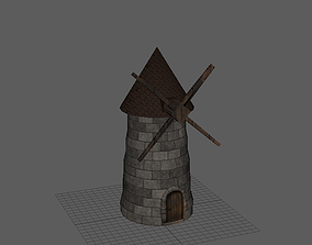 Mill 3D Model realtime