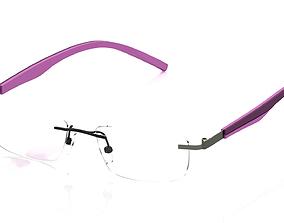 Eyeglasses for Men and Women sun sunglass 3D print model