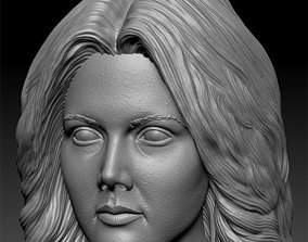Lynda Carter 3D printable model shapeways