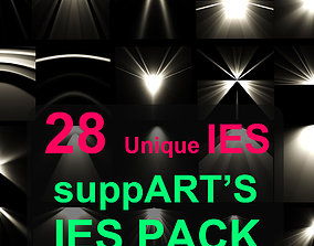 suppARTs IES Pack 3D model