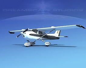Cessna 172 Skyhawk STOL V04 3D model