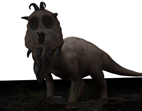 Pachyrhinosaurus 3D model