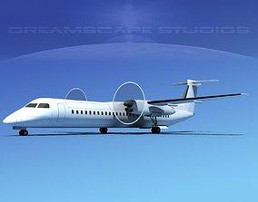 3D model De havilland Canada DHC-8-Q400 LP SS