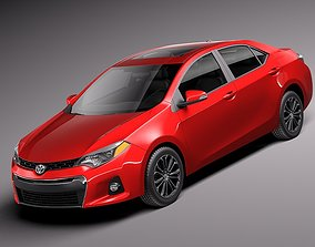 Toyota Corolla S 2014 USA 3D model