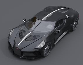3D Bugatti La Voiture Noire - old