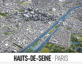 Hauts-de-Seine - Grand Paris 3D model