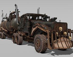 3D model Tatra T815 The war rig