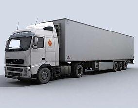 3D model Refrigerated Transport Truck