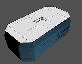 scifi crate 3D printable model