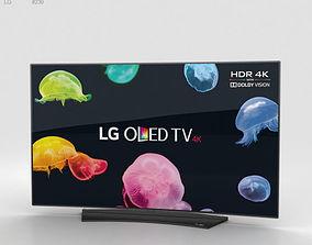 3D LG 55 OLED TV C6 OLED55C6V
