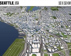 Seattle 3D model