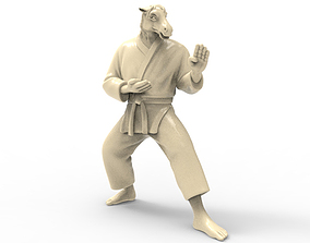 Horse Kokutsu Dachi Stance 3D printable model