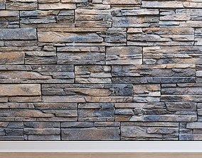 Stone cladding Stone 033 3D asset