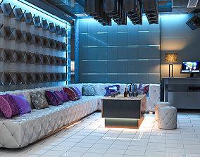 Bar karaoke Room 3D model