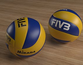Volleyball Mikasa FIVB 3D model