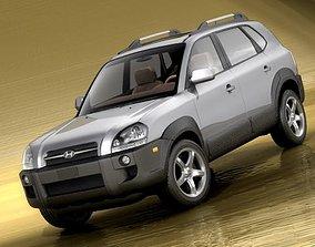 Hyundai Tucson 2005 3D