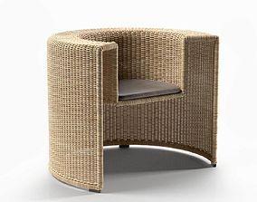 Charlotte Chair lajhar 3D model